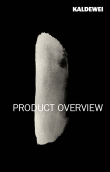 Overview of KALDEWEI products