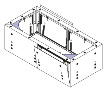 MULTIVERSO panelling system for whirlpool bathtubs