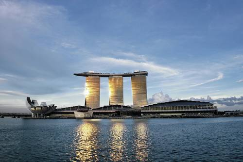 5 – Marina Bay Sands Hotel