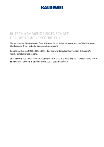 Rutschhemmung Secure Plus