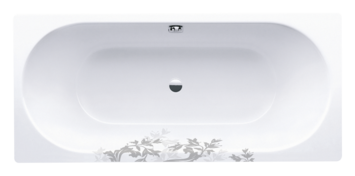 Lily pattern for bathtubs