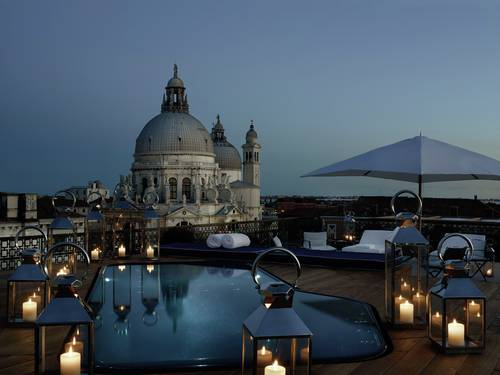 1 – The Gritti Palace – Dachterrasse mit Pool