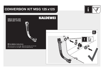 Conversion Kit MSG 125x125