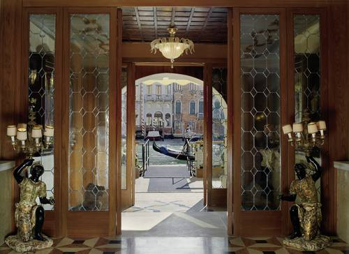 3 – The Gritti Palace – Eingang vom Canal Grande