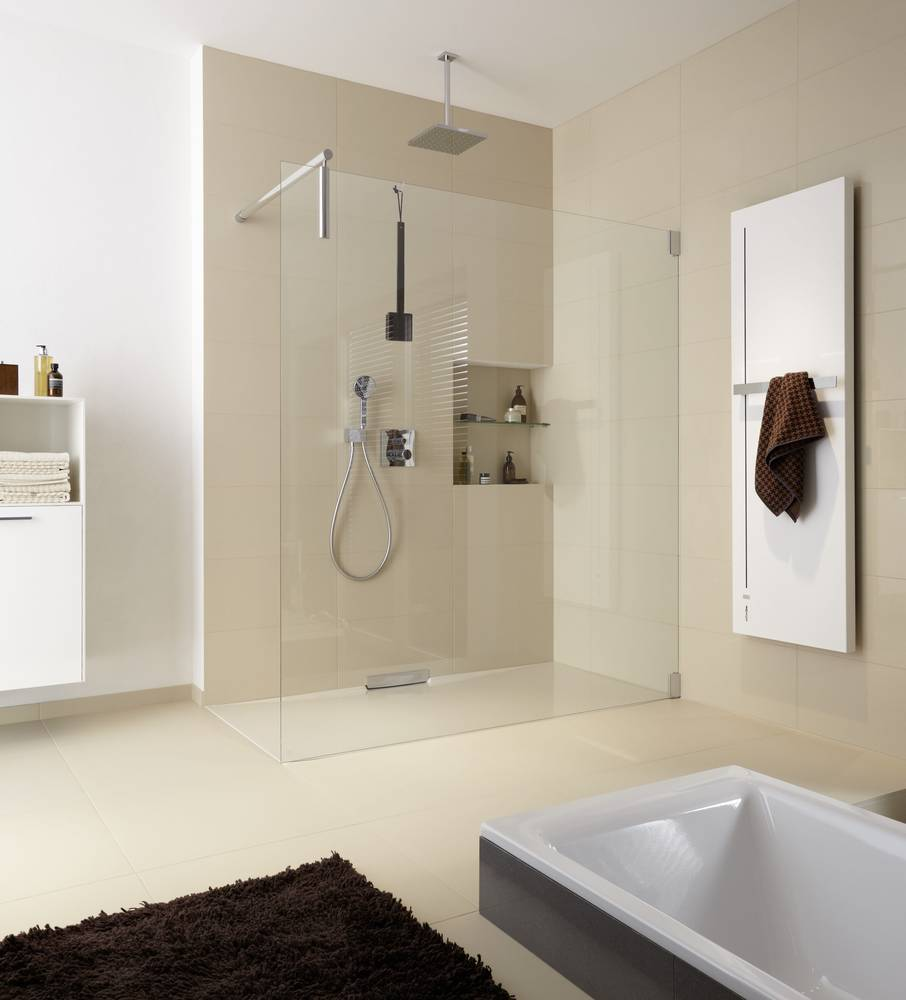 Floor-level showers are a megatrend in the bathroom