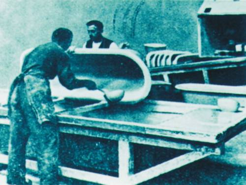 3 – Bathtub production 1934