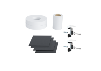Shower tray sound insulation set DWS