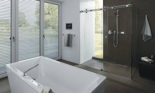 Badewanne CONODUO mit COMFORT SELECT