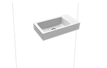 PURO wall-mounted hand washbasin