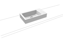 PURO countertop hand washbasin