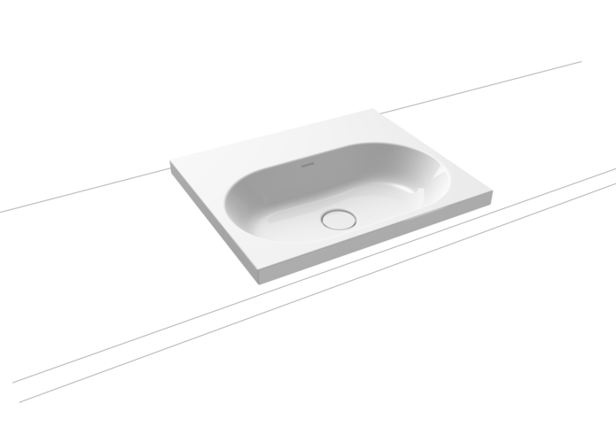 Centro Inset Countertop Washbasin (HEIGHT OF RIM 40 MM)