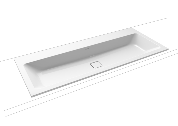 CONO BUILT-IN DOUBLE WASHBASIN