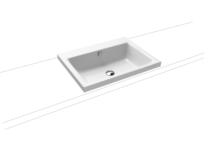 PURO INSET COUNTERTOP WASHBASIN (HEIGHT OF RIM 40 MM)