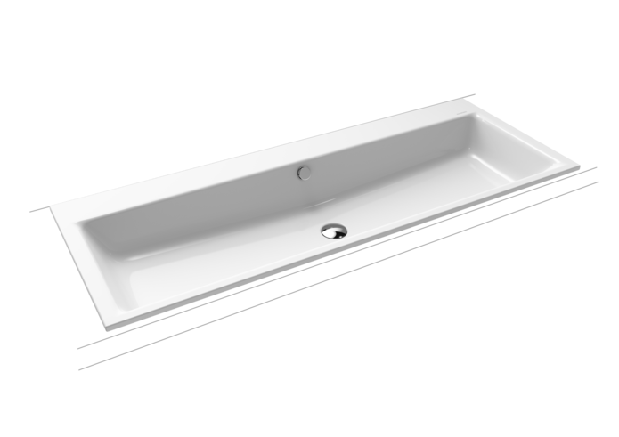 PURO built-in twin washbasin