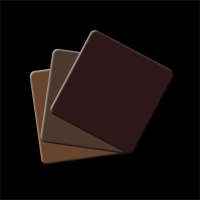 Colour Card 3er-Set Brown