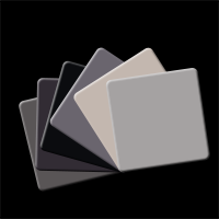 Colour Card 6er-Set Grey / Black